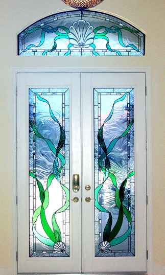 Stained Glass for Entrances and Doors